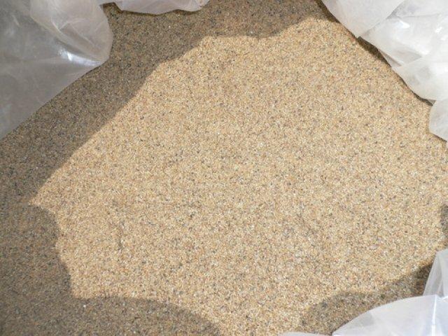 Кварцевый фракционированный песок – область применения